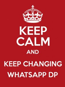 Keep calm DP